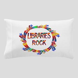 Libraries Rock Pillow Case