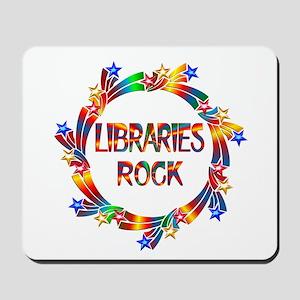 Libraries Rock Mousepad
