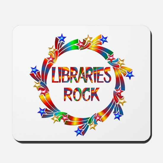 Libraries Rock Mousepad