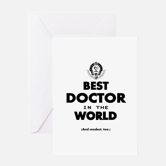 Best Doctor Greeting Cards