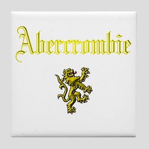 Abercrombie. Tile Coaster