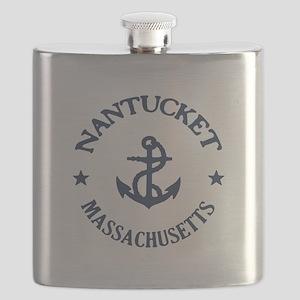 Nantucket Anchor Flask