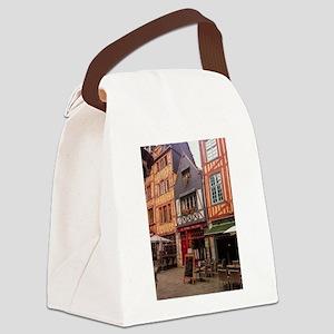 Rouen, France Canvas Lunch Bag