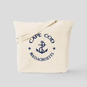 Cape Cod Anchor Tote Bag