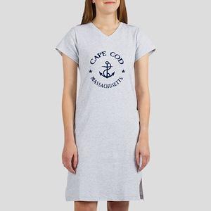 Cape Cod Anchor Women's Nightshirt
