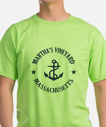 Martha's Vineyard Anchor T-Shirt