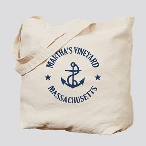 Martha's Vineyard Anchor Tote Bag