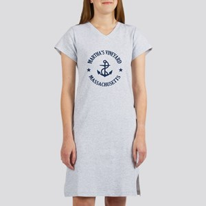 Martha's Vineyard Anchor Women's Nightshirt