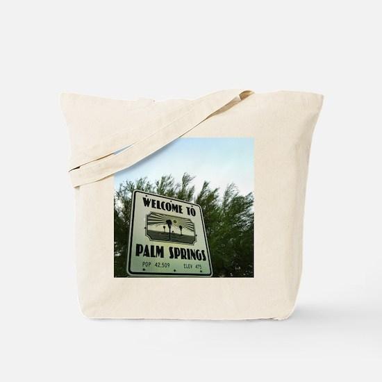 Cute Palm springs Tote Bag