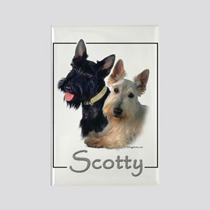 Scotty Rectangle Magnet