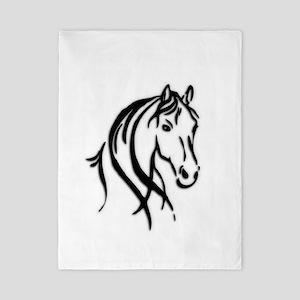 Black Horse Twin Duvet