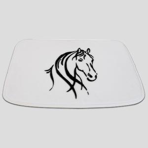 Black Horse Bathmat