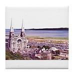 Sainte Anne Beaupre Basilic Tile Coaster