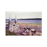 Sainte Anne Beaupre Basilic Rectangle Magnet (100