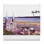 Sainte Anne Beaupre Basilic S Tile Coaster