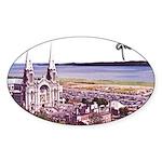 Sainte Anne Beaupre Basilic S Oval Sticker