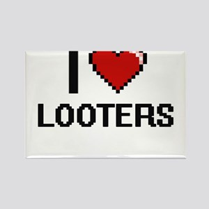 I Love Looters Magnets