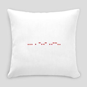 Morse Sex? Everyday Pillow