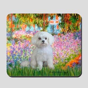 Garden / Maltese Mousepad
