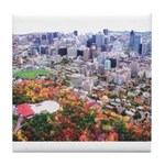 Montreal City Tile Coaster