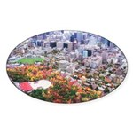 Montreal City Oval Sticker