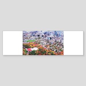 Montreal City Bumper Sticker