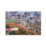 Montreal City Rectangle Magnet (100 pack)
