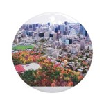 Montreal City Ornament (Round)