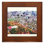 Montreal City Framed Tile