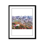 Montreal City Framed Panel Print