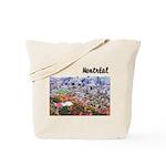 Montreal City Signature upper Tote Bag