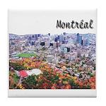 Montreal City Signature upper Tile Coaster