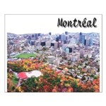 Montreal City Signature upper Small Poster