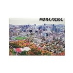 Montreal City Signature upper Rectangle Magnet