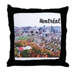 Montreal City Signature upper Throw Pillow