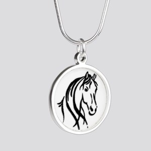 Black Horse Necklaces