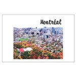 Montreal City Signature upper Large Poster