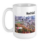 Montreal City Signature upper Large Mug