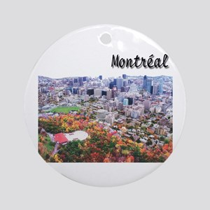 Montreal City Signature upper Ornament (Round)