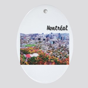 Montreal City Signature upper Oval Ornament