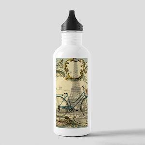 eiffel tower paris bik Stainless Water Bottle 1.0L