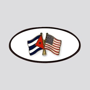 Cuban flag and the U.S. flag Patch