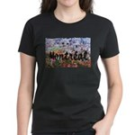 Montreal City Signature cente Women's Dark T-Shirt