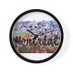 Montreal City Signature cente Wall Clock