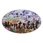 Montreal City Signature cente Oval Sticker
