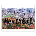 Montreal City Signature cente Small Poster