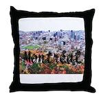 Montreal City Signature cente Throw Pillow