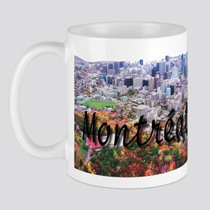 Montreal City Signature cente Mug