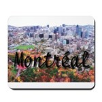 Montreal City Signature cente Mousepad