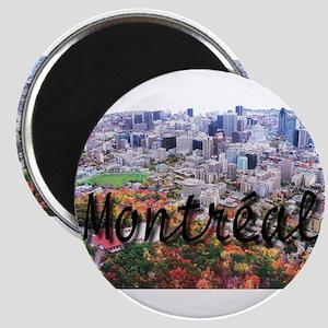 Montreal City Signature cente Magnet